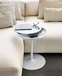 modern slide under the sofa side tables
