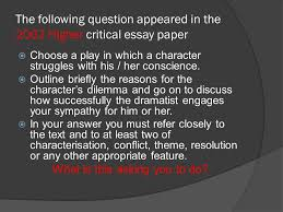 sample essay the crucible ppt video online  sample essay the crucible 2 what