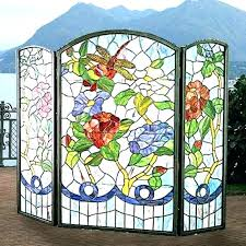 stained glass fireplace screen stained glass fireplace screens ale stained glass fireplace screen stained glass fireplace