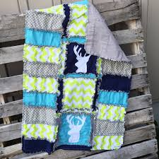 deer baby quilt for lady hunter