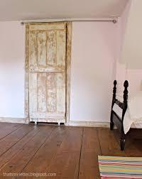 existing door made into sliding door