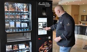 Chocolate Vending Machines New ChocolateAtelier Vyverman Chocolate Vending Machine In Hotel