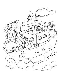 Kleurplaat Boot Sinterklaas Krijg Duizenden Kleurenfotos Van De Beste