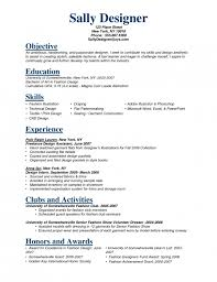 resume for fashion student sample resume for fashion designer - Fashion  Designer Resume
