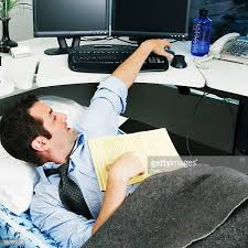 bed in office. Businessman Lying In Bed Office Bed Office