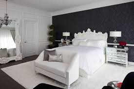 black bedroom. Perfect Bedroom 36 Black U0026 White Bedrooms  Photos And Ideas For With  Decor Intended Bedroom