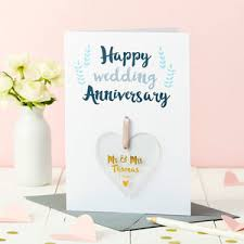 wedding anniversary cards notonthehighstreet com Happy Wedding Anniversary Wishes Uncle Aunty personalised anniversary foiled keepsake card happy marriage anniversary wishes to uncle and aunty