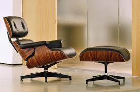 herman miller lounge chair replica. Eames Lounge Chair And Ottoman Herman Miller . Replica White With A Black Base Manhattan Design Within Reach