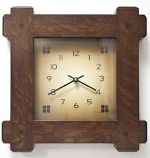 wall clock arts and crafts