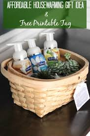 affordable housewarming gift idea free printable