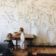 mer mag via pinterest on african cloth wall art with roundup diy large canvas drop cloth wall art curbly