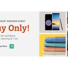 sam s club august 4 1 day saay is live get the most por deals
