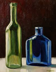 colored glass acrylic painting lesson