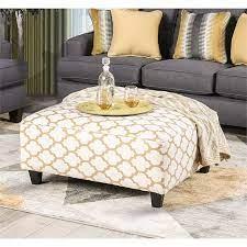 furniture of america allen upholstered