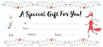 Printable Gift Certificates Online Free Download Them Or Print