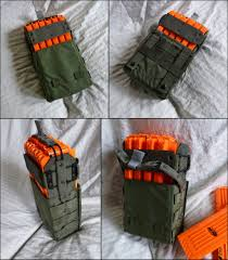 Nerf Magazine Holder magazine pouch for nerf Google Search my son's board Pinterest 12