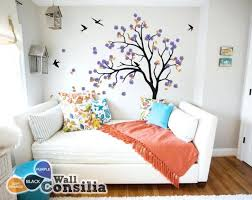 living room wall decal with barn swallows flower decals fl target marvelous kids australia for nursery