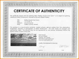 14 Art Certificate Of Authenticity Shawn Weatherly