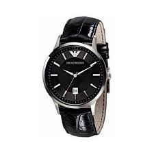 best selling affordable armani watches for men graciouswatch com emporio armani men s ar2411 black dial black leather watch