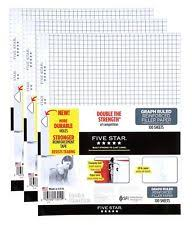 Five Star Graph Paper Notebook Five Star Graph Paper Notebooks Magdalene Project Org