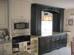 Distressed Kitchen Cabinets Kitchen Traditional With Black Bookcase Buffet  Crown. Image By: Sunshine Menefee