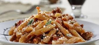 whole grain penne with y duck ragout