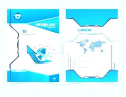 word cover page download word report cover page template free download design