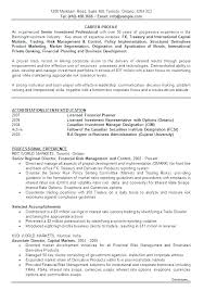 Canadian Format Resume Resume In Format To Resume Format In Resume ...