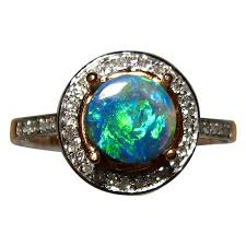 jewelry opal and diamond rings opal and diamond rings jewelry australian opal and diamond rings antique