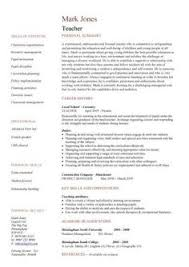 excellent teacher resume sample with the added personal summery this resume is unique and outstanding new teacher resume template