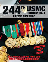 Usmc Ribbon Order Chart Medals Of America 244th Usmc Uniform Guide By Kirk Stotzer