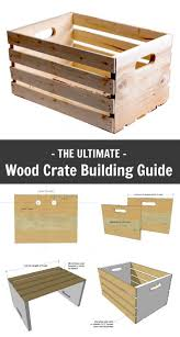 wood crate furniture diy. building crates is easy fun and maybe even free if you have scrap wood lying around your shop crate furniture diy