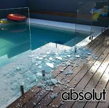 glass pool fence damaged pool fence glass on the gold coast some ideas that can help glass pool fence