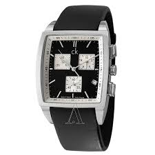 calvin klein bold k3027175 men s watch watches calvin klein men s bold square watch