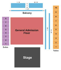 The Bomb Factory Seating Chart Audien Dallas Tickets Section Ga Row Ga 12 21 2019 The