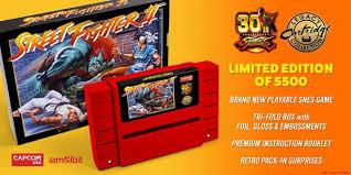 street fighter ii 30th anniversary edition iam8bit