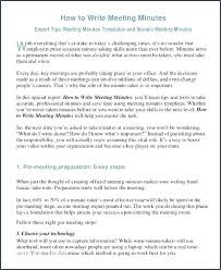 Format For Minutes Writing Sample Meeting Minutes Template Metabots Co