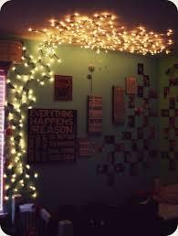 bedroom wall decor string