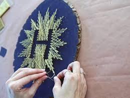 Make Your Own Monogrammed String Art | HGTV