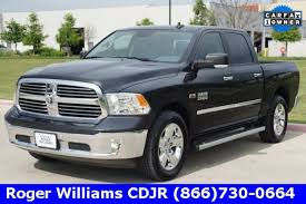 Used 2016 Ram 1500 Truck Crew Cab SLT For Sale in Weatherford TX ...