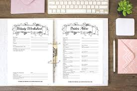 Free Printable Binder Templates How To Put Together Your Perfect Free Wedding Binder 42