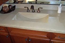 one piece sink and countertop creative of all in one sink and bathroom sink on top one piece sink and countertop