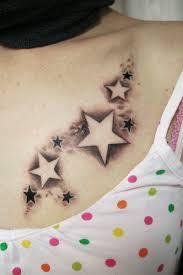 значение наколок звезды на ключицах значение тату звезды на ключице