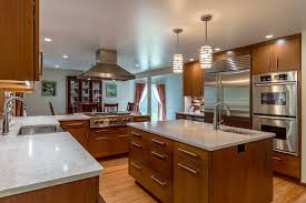 Soft Contemporary Two Tone Wood Mode Kitchen Remodel Pittsford Ny