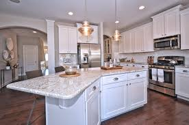 Bianco Romano Granite Kitchen Wakefield Model Home Kitchen Tullamore Pinterest Models