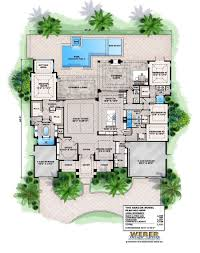 ranch house plans with indoor pool home deco fine plan swimming