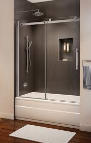wonderful sliding shower doors over tub with best 25 tub glass door ideas on shower tub bathtub