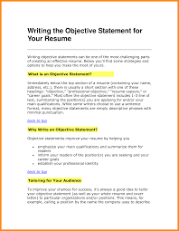 Objective Statements For Resume Confortable It Project Manager