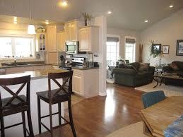 Kitchen Living Room Open Floor Plan Paint Colors
