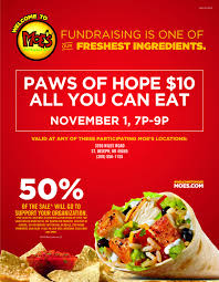 Moe Southwest Grill Calorie Chart